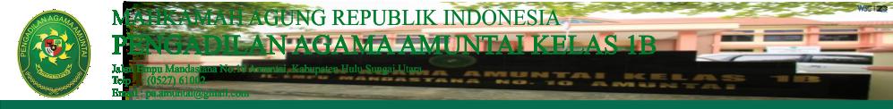 Zona Integritas Pengadilan Agama Amuntai Pengadilan Agama Amuntai